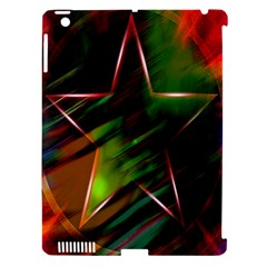 Colorful Background Star Apple Ipad 3/4 Hardshell Case (compatible With Smart Cover) by Simbadda