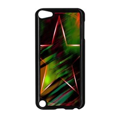 Colorful Background Star Apple Ipod Touch 5 Case (black) by Simbadda