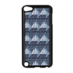 Snow Peak Abstract Blue Wallpaper Apple Ipod Touch 5 Case (black) by Simbadda