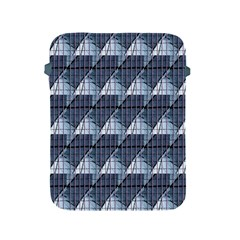 Snow Peak Abstract Blue Wallpaper Apple Ipad 2/3/4 Protective Soft Cases by Simbadda