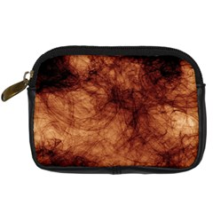 Abstract Brown Smoke Digital Camera Cases by Simbadda