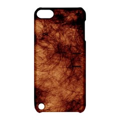 Abstract Brown Smoke Apple Ipod Touch 5 Hardshell Case With Stand by Simbadda