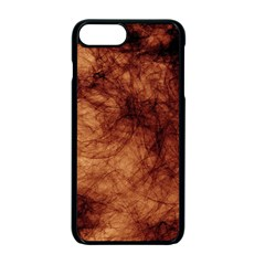 Abstract Brown Smoke Apple Iphone 7 Plus Seamless Case (black)