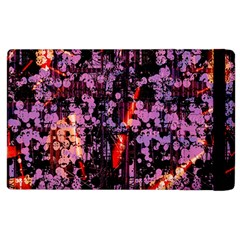 Abstract Painting Digital Graphic Art Apple Ipad 2 Flip Case