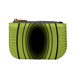 Spiral Tunnel Abstract Background Pattern Mini Coin Purses by Simbadda