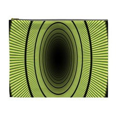 Spiral Tunnel Abstract Background Pattern Cosmetic Bag (xl)
