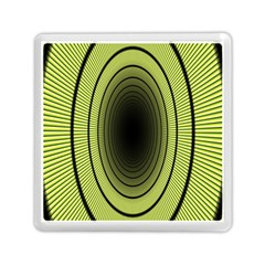 Spiral Tunnel Abstract Background Pattern Memory Card Reader (square)