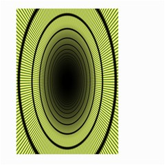 Spiral Tunnel Abstract Background Pattern Large Garden Flag (two Sides) by Simbadda
