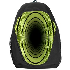 Spiral Tunnel Abstract Background Pattern Backpack Bag