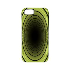 Spiral Tunnel Abstract Background Pattern Apple Iphone 5 Classic Hardshell Case (pc+silicone) by Simbadda