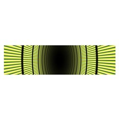 Spiral Tunnel Abstract Background Pattern Satin Scarf (oblong)
