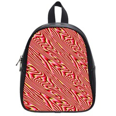 Abstract Neutral Pattern School Bags (small)  by Simbadda