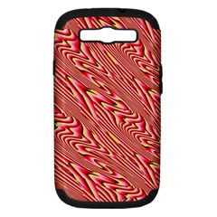 Abstract Neutral Pattern Samsung Galaxy S Iii Hardshell Case (pc+silicone) by Simbadda
