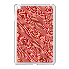 Abstract Neutral Pattern Apple Ipad Mini Case (white)