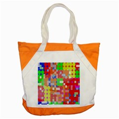 Abstract Polka Dot Pattern Digitally Created Abstract Background Pattern With An Urban Feel Accent Tote Bag by Simbadda