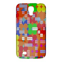 Abstract Polka Dot Pattern Digitally Created Abstract Background Pattern With An Urban Feel Samsung Galaxy Mega 6 3  I9200 Hardshell Case by Simbadda