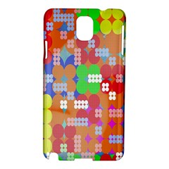 Abstract Polka Dot Pattern Digitally Created Abstract Background Pattern With An Urban Feel Samsung Galaxy Note 3 N9005 Hardshell Case by Simbadda