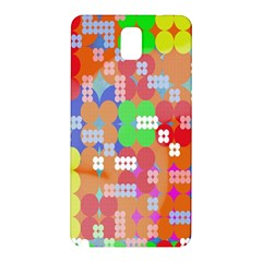 Abstract Polka Dot Pattern Digitally Created Abstract Background Pattern With An Urban Feel Samsung Galaxy Note 3 N9005 Hardshell Back Case by Simbadda
