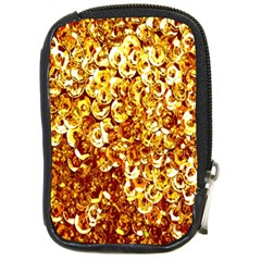 Yellow Abstract Background Compact Camera Cases by Simbadda