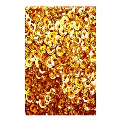Yellow Abstract Background Shower Curtain 48  X 72  (small)  by Simbadda