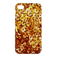 Yellow Abstract Background Apple Iphone 4/4s Hardshell Case by Simbadda
