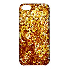 Yellow Abstract Background Apple Iphone 5c Hardshell Case by Simbadda