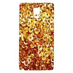 Yellow Abstract Background Galaxy Note 4 Back Case by Simbadda
