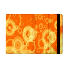 Retro Orange Circle Background Abstract Apple Ipad Mini Flip Case by Nexatart