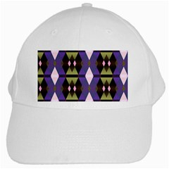 Geometric Abstract Background Art White Cap by Nexatart
