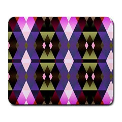Geometric Abstract Background Art Large Mousepads by Nexatart