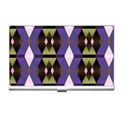 Geometric Abstract Background Art Business Card Holders by Nexatart