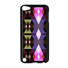 Geometric Abstract Background Art Apple Ipod Touch 5 Case (black) by Nexatart