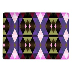 Geometric Abstract Background Art Samsung Galaxy Tab 10 1  P7500 Flip Case by Nexatart