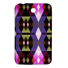 Geometric Abstract Background Art Samsung Galaxy Tab 3 (7 ) P3200 Hardshell Case  by Nexatart