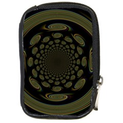Dark Portal Fractal Esque Background Compact Camera Cases by Nexatart