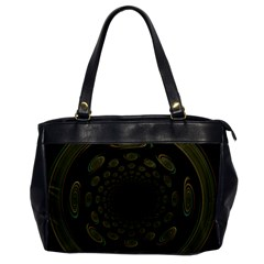 Dark Portal Fractal Esque Background Office Handbags by Nexatart