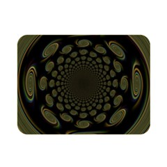 Dark Portal Fractal Esque Background Double Sided Flano Blanket (mini)