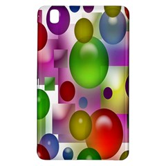 Colored Bubbles Squares Background Samsung Galaxy Tab Pro 8 4 Hardshell Case by Nexatart