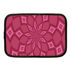 Fusia Abstract Background Element Diamonds Netbook Case (medium)  by Nexatart