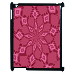 Fusia Abstract Background Element Diamonds Apple Ipad 2 Case (black) by Nexatart