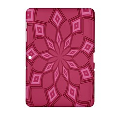 Fusia Abstract Background Element Diamonds Samsung Galaxy Tab 2 (10 1 ) P5100 Hardshell Case
