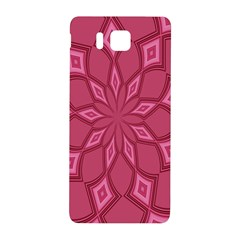 Fusia Abstract Background Element Diamonds Samsung Galaxy Alpha Hardshell Back Case by Nexatart