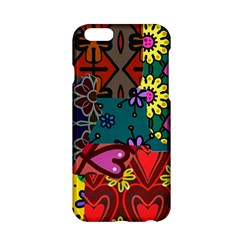 Digitally Created Abstract Patchwork Collage Pattern Apple Iphone 6/6s Hardshell Case by Nexatart