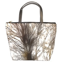 Tree Art Artistic Tree Abstract Background Bucket Bags by Nexatart