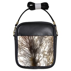 Tree Art Artistic Tree Abstract Background Girls Sling Bags by Nexatart