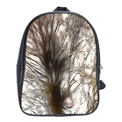 Tree Art Artistic Tree Abstract Background School Bags (xl)  by Nexatart