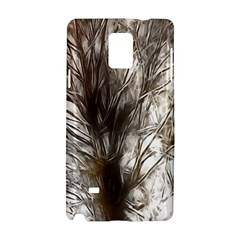 Tree Art Artistic Tree Abstract Background Samsung Galaxy Note 4 Hardshell Case by Nexatart