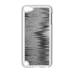 Rectangle Abstract Background Black And White In Rectangle Shape Apple Ipod Touch 5 Case (white) by Nexatart