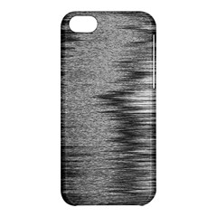 Rectangle Abstract Background Black And White In Rectangle Shape Apple Iphone 5c Hardshell Case by Nexatart