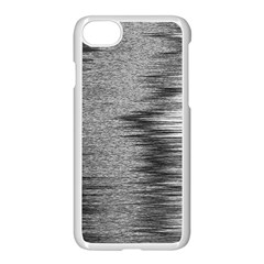 Rectangle Abstract Background Black And White In Rectangle Shape Apple Iphone 7 Seamless Case (white) by Nexatart